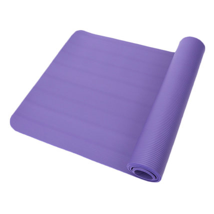 All-Purpose NBR Exercise Yoga Mat Extra-wide and Extra-thick
