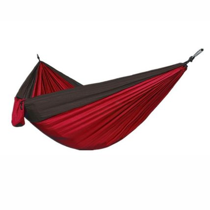 Double Outdoor Two-Color Splicing Hammock